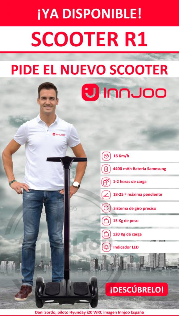 DHITELfon Movilidad. INNJOO Scooter R1