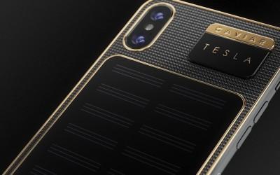 Rusia tiene un iPhone X Tesla con carga solar que sólo te costará 3.800 euros