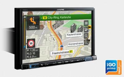 Sistema de navegación e infotainment (2-DIN) para SMART TWO 2014