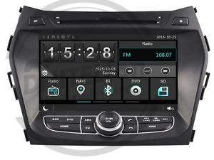 En DHITELfon, Sistema de Navegación / Radio Gps para Hyundai Santa Fe / IX45.