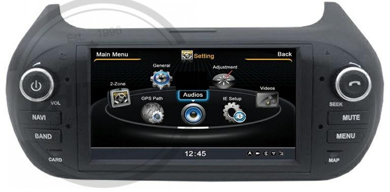 En DHITELfon, Sistema de Navegación / Radio Gps para Nemo/ Fiorino Qubo/ Bipper.