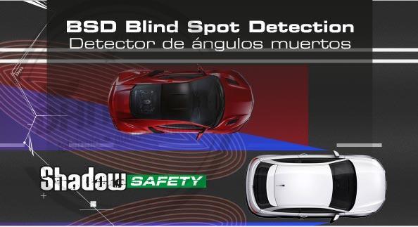 En DHITELfon, BSD Blind Spot Detection