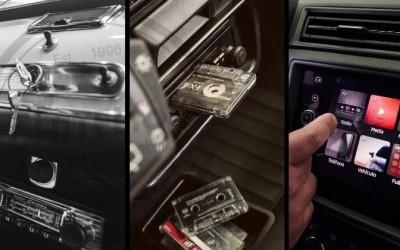Así ha evolucionado la radio del coche en 60 años: de pagar para tenerla a convertirla en una 'tablet' integrada
