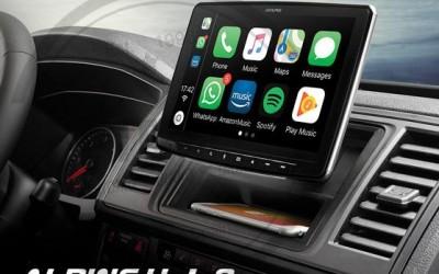 "Sistema Multimedia Chasis 1DIN, pantalla de 9"" compatible con Apple CarPlay y Android Auto - iLX-F903D"