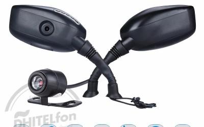 En DHITELfon, Espectacular cámara retrovisor para motos DVR