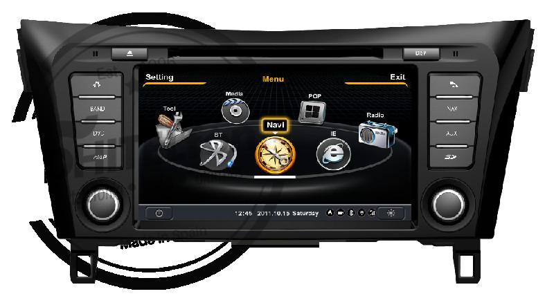 En DHITELfon, Sistema Navegación Radio Gps Nissan Qashqai II / XTrail III