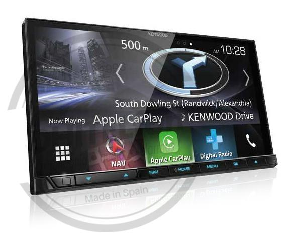 "Kenwood DNX9180DABS 6.8 ""Apple CarPlay Android Audio navegación"