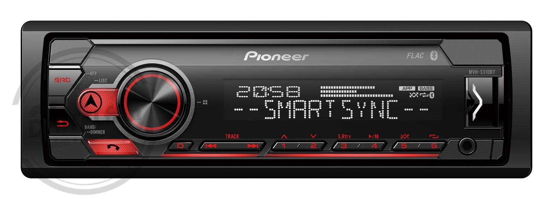 El atractivo diseño 1-DIN del PIONEER  MVH-S310BT      !!! OFERTA 79,99!!!