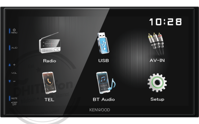 KENWOOD DMX110BT Receptor Digital de Medios de 6,8