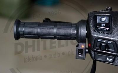 En DHITELfon, Juego de Puños Calefactables 22mm 3 Posiciones para Moto