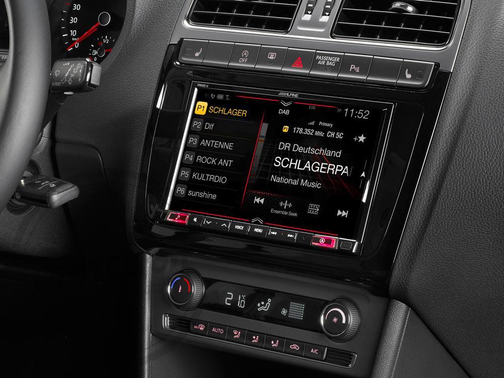 """Kit de instalación de 8"""" para Volkswagen Polo 5 / GTI (6C) - KIT-X802POLO"""