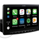 "Sistema Multimedia Chasis 1DIN, pantalla de 9"" compatible con Apple CarPlay y Android Auto - iLX-F903D"