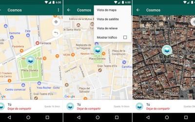 Cómo compartir tu ubicación en tiempo real con WhatsApp para Android