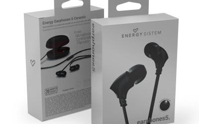 En DHITELfon, AURICULARES ENERGY EARPHONES 5 CERAMIC
