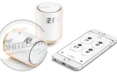 Netatmo presenta unas válvulas inteligentes para pagar un 37% menos de calefacción