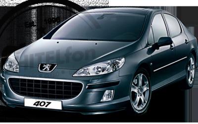 En DHITELfon, Sistema de Navegación / Radio Gps para Peugeot 407