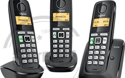 En DHITELfon, Gigaset A220 Trio – Teléfono