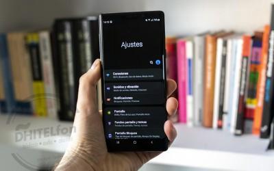 Probamos Android 9 Pie en el Samsung Galaxy Note 9: un completo rediseño que añade modo oscuro