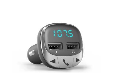 Car Transmitter FM Bluetooth Reproduce tu música por Bluetooth y escúchala a través de la radio FM